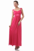 NEW! Gorgeous Emmy Long Empire Waist Maternity Formal Dress