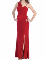 Gorgeous Molly Ruched Long Maternity Evening Dress