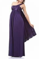 Stunning Kourtney One Shoulder Maternity Formal Dress