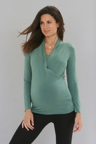 Mayreau Long Sleeve Mia Maternity/Nursing Top