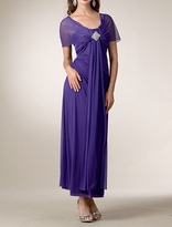 Pretty Millie Long Special Occasion Maternity Dress
