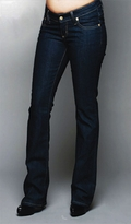 Momzee Butt-Lifter Bootcut Maternity Jeans - Storm Blue