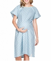 "Nicole Maternity Hospital Gown <b>FEATURED ON ""THE OFFICE"" NBC</b>"