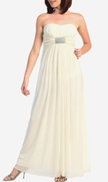 Nyla Embellished Strapless Maternity Bridal Dress Wedding Gown