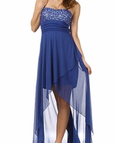 Stunning Penelope Jewel Embellished Maternity Evening Dress