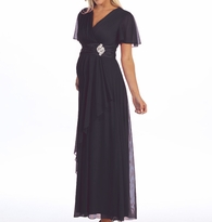 Pretty Evalyn Long Maternity Formal Gown / Evening Dress