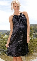 Stunning Sequin Maternity Party/Cocktail Dress