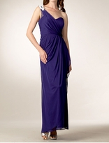 Stunning Cassie One Shoulder Long Maternity Evening Gown