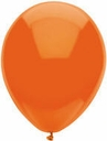 "11"" Qualatex BSA Bright Orange Latex Balloons 100 Per Bag"