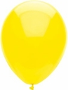 "11"" Qualatex Value Line Sun Yellow Latex Balloons 100ct"