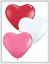 "11"" Latex Sweet Heart Asst 100ct"