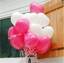 "Qualatex Heart Shape 11"" Latex Balloons 100 per bag"