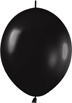 "12"" Pearl Black Link-o-Loons 100ct"