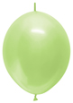 "12"" Pearl Key Lime Link-O-Loon 50ct"