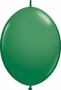 "12"" Qualatex Green Quick Links Latex Arch Balloons 50ct"