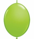 "12"" Qualtex Lime Green Latex Quick Link Helium Latex Balloons 50 Per Bag"