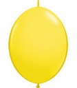 "12"" Yellow Qualatex Quick Link Latex Arch Balloons 50 per bag"
