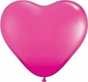 "15"" Wildberry Latex Hearts 50ct"