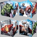 "16"" Avengers Age Of Ulton Cubex Square Balloons 1 per pack"