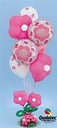 "16"" Geo Blossom & Geo Donut Latex Balloons 25ct per bag"