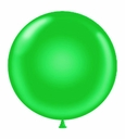 "Tuf-Tex 17"" Tuf Tex Green Latex Balloons 72 Per Bag"