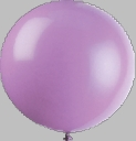 "17"" Tuf Tex Crystal Lavender Latex Balloons 72 Per Bag"