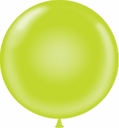"Tuf-Tex 17"" Tuf Tex Lime Latex Balloons 72 Per Bag"