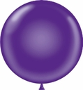 "Tuf-Tex 17"" Tuf Tex Crystal Purple Latex Balloons 72 Per Bag"