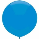 "17"" Tuf Tex Crystal Turquoise Latex Balloons 72 Per Bag"