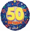 "18"" 50th Birthday"