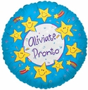 "18"" ALIVIATE PRONTO SMILEY STARS 1 pk"