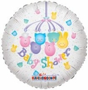 """Baby Shower Balloons 18"""" Baby Shower Mobile Balloon 1-sided"""