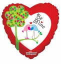 "18"" Be My Valentine Birds 10pk"