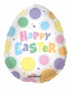 "18"" Easter Egg Shape 1ct"