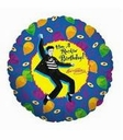 "18"" Elvis' Rockin, Birthday Foil Balloon"