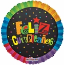 "18"" Feliz Compleanos Jazzy Colors 1ct"