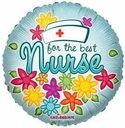 "18"" For the Best Nurse 10pk"
