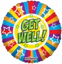 """18"""" Get Well Stars & Lines"""