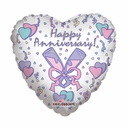 "18"" Anniversary Heart Shape Special"