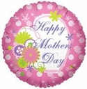 "18"" Happy Mother's Day Pink 1pk"