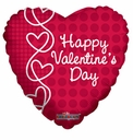 "18"" HVD Laced Hearts 10pk"