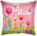 "18"" I love Mom Tulips 1pk"