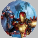 "18"" Iron Man Foil Balloon"