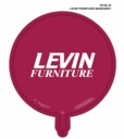 "Levin Furniture 18"" Levin Furniture Burgundy with White ink or White Balloons With Burgundy Ink. Select Below"