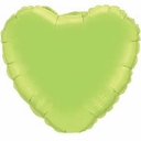 "18"" Lime Green Heart 1pk"
