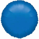 "18"" Metallic Blue Circles 10pk"