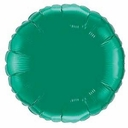 "18"" Metallic Green Circle 10pk"