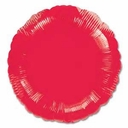 "18"" Metallic Red Circle 10pk"