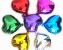 """18"""" Metallic Hearts are sold 10 per pack"""