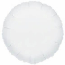 "18"" Metallic White Circle 10pk"